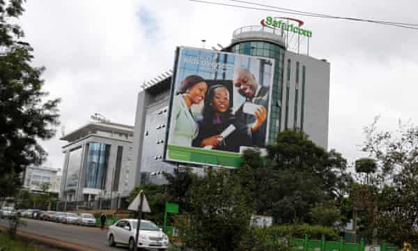 Safaricom headquarters in Nairobi