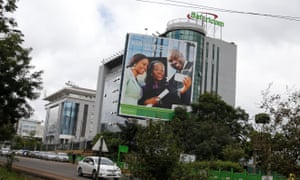 Safaricom headquarters in Nairobi