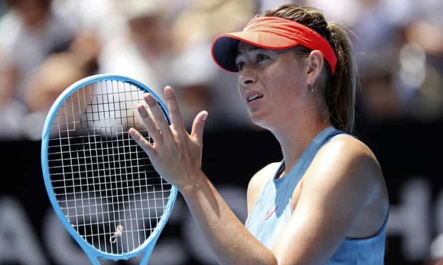 Maria Sharapova, who lost to Ashleigh Barty in the fourth round at the Australian Open, says she has returned to the practice court but the French Open has come too soon.