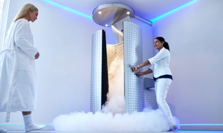 What marathoner doesn't have their own personal cryotherapy chamber at home these days?