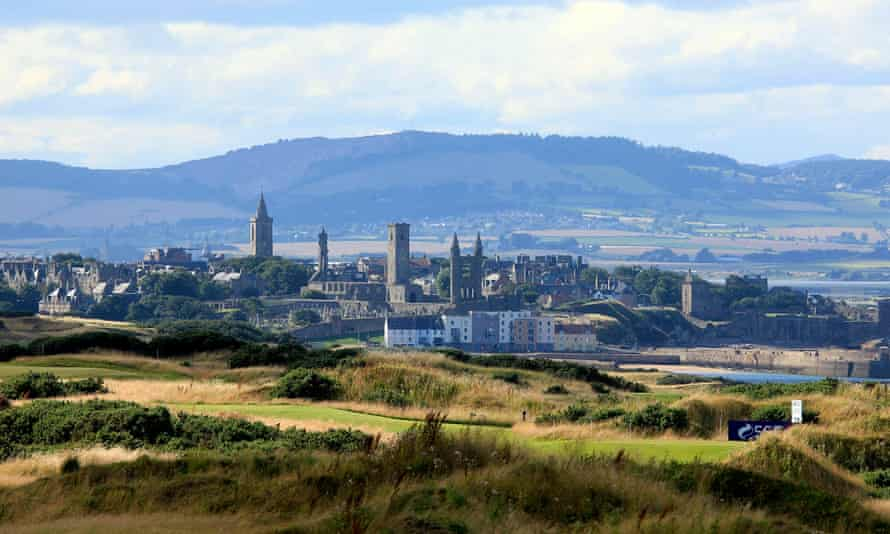 A view of St Andrews.