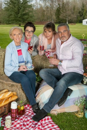 Essential ingredients: Mary Berry, Sue Perkins, Mel Giedroyc and Paul Hollywood.
