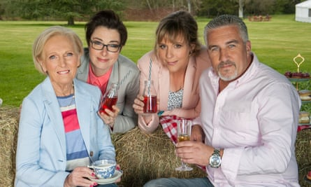 In a jam: Mary Berry, Sue Perkins, Mel Giedroyc and Paul Hollywood.