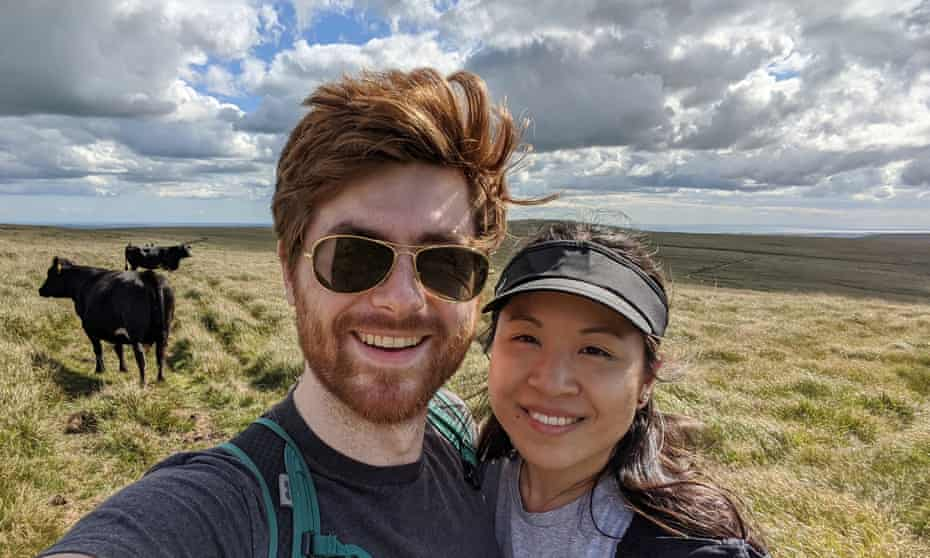Luke and Corrine: 'I said I had strong feelings and thought it was a shame we were going to be thousands of miles apart.'