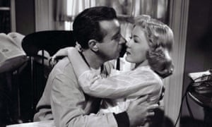 Dick Powell and Gloria Grahame in The Bad and the Beautiful.