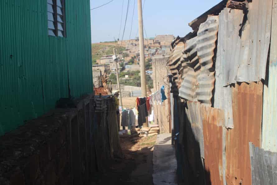 Dandora suburb in Nairobi