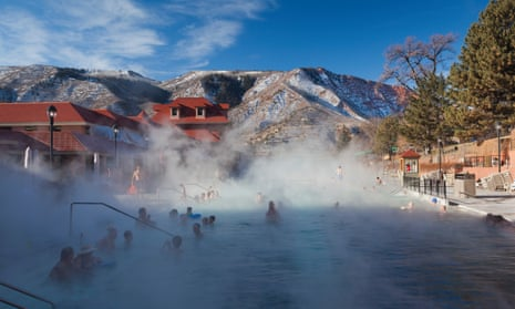 USA, Colorado, Glenwood Springs, Glenwood Hot Springs