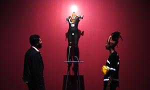 The Petit Bourgeois Philistine Heartfield Gone Wild Electro Mechanical Tatlin by German artists George Grosz and John Heartfield.