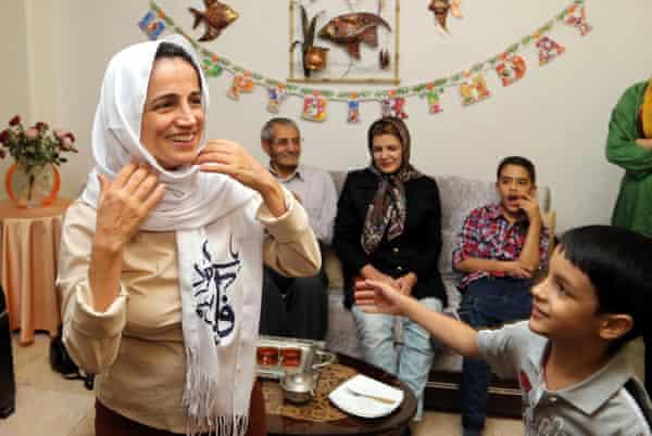 Iran human rights activist Nasrin Sotoudeh