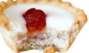 A Mr Kipling cherry bakewell