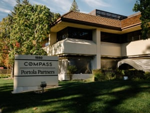 Zoning, real estate and financial management offices in nearby Menlo Park.