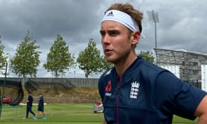 Stuart Broad says he has to 'make sure my emotions are where they need to be' when there are no spectators at the Tests.