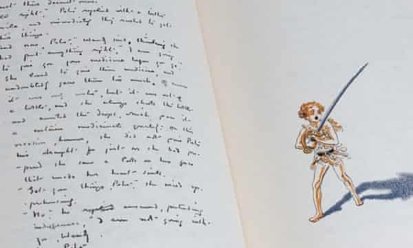 Peter Pan S Dark Side Emerges With Release Of Original Manuscript Jm Barrie The Guardian
