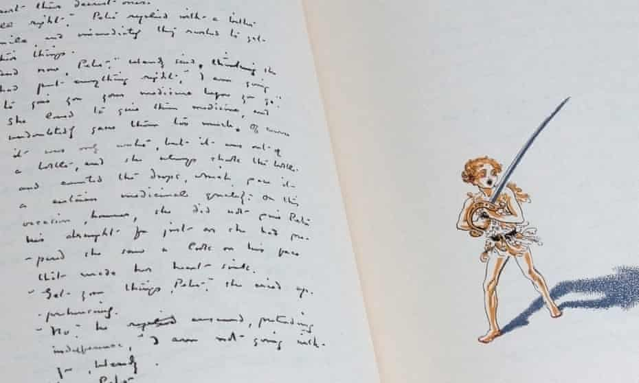 The unpublished original manuscript of JM Barrie's 1911 novel, reproduced for the first time in his own handwriting.