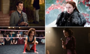 Bill Hader of Barry, Sophie Turner of Game of Thrones, Alison Brie of GLOW and Rachel Brosnahan of The Marvelous Mrs Maisel.