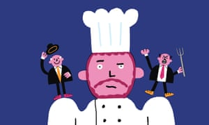 Chefs On Customers illustration