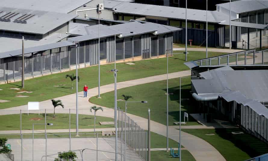 The Christmas Island immigration detention centre was reopened in August to relieve pressure on Australia's onshore detention network. More than 30 people transferred there say they have no wifi and are struggling to contact their families.