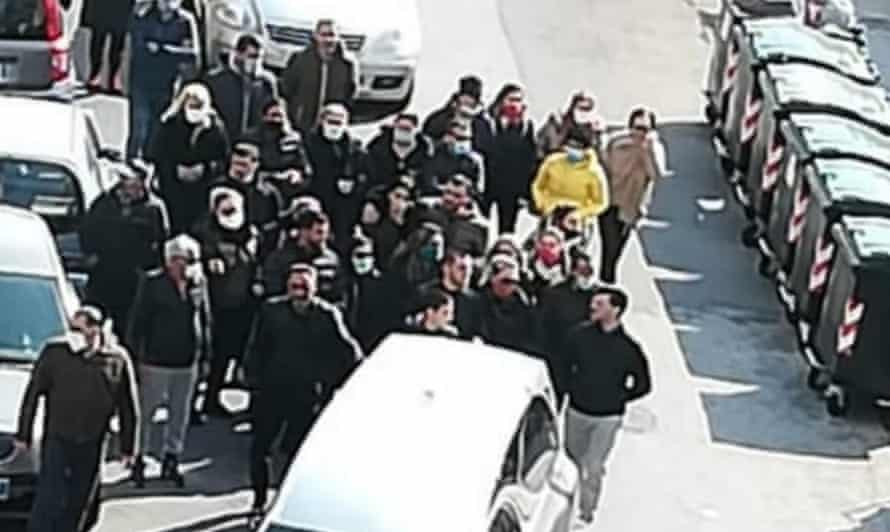 Prosecutors are investigating the recent funeral procession held in Messina, Sicily.