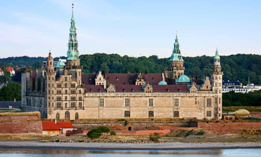 Kronborg Castle, immortalised as Elsinore in Hamlet.