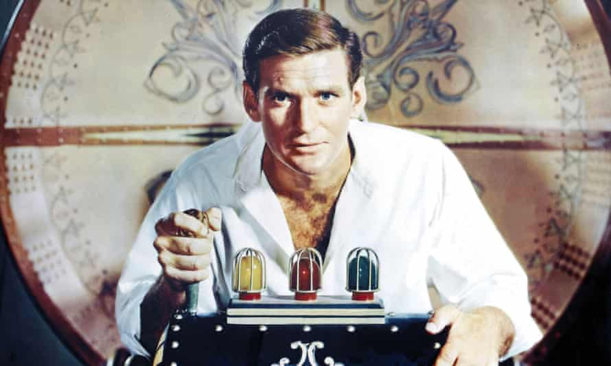 Rod Taylor in the 1960 movie The Time Machine.