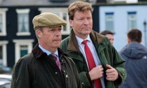 Nigel Farage and Richard Tice.