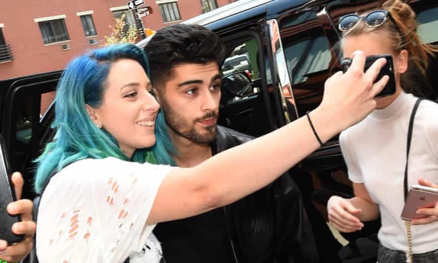 Zayn Malik meets fans in New York this week.