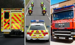 can you name the uk emergency service siren society the guardian