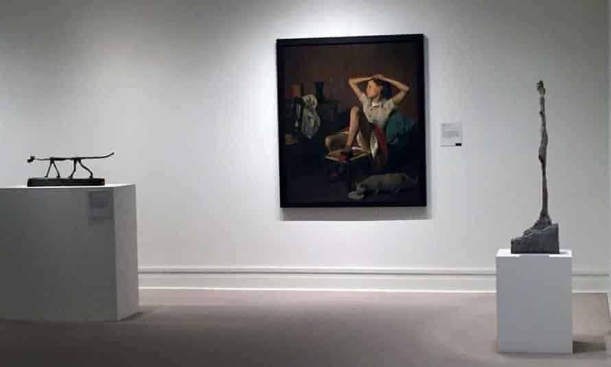 Thérèse Dreaming by French-Polish artist known as Balthus, born Balthasar Klossowski.