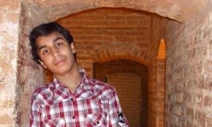 Ali Mohammed al-Nimr, who has been sentenced to crucifixion in Saudi Arabia.
