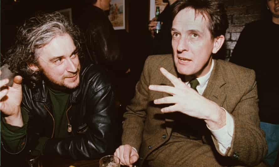 Back in the music business … Jimmy Cauty and Bill Drummond of KLF in 1996.