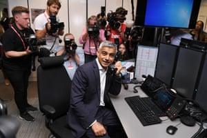London Mayor Sadiq Khan at the BGC Annual Global Charity Day, London, UK - 11 Sep 2019