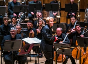 Marin Alsop conducting London Philharmonic Orchestra playing Here and Now, Isle Of Noises part of SoundState Festival 2019 @ Royal Festival Hall.