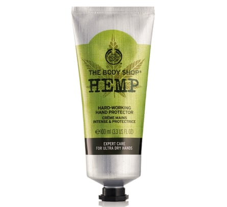 Body Shop hemp hand protector