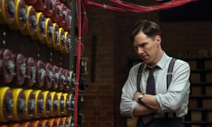 Benedict Cumberbatch as Alan Turing in the 2014 film The Imitation Game