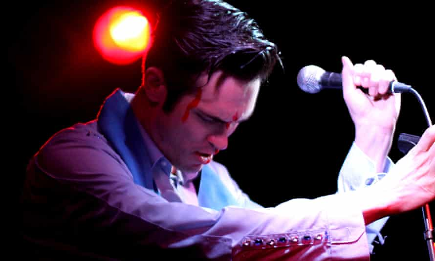 Rob Kemp in The Elvis Dead.