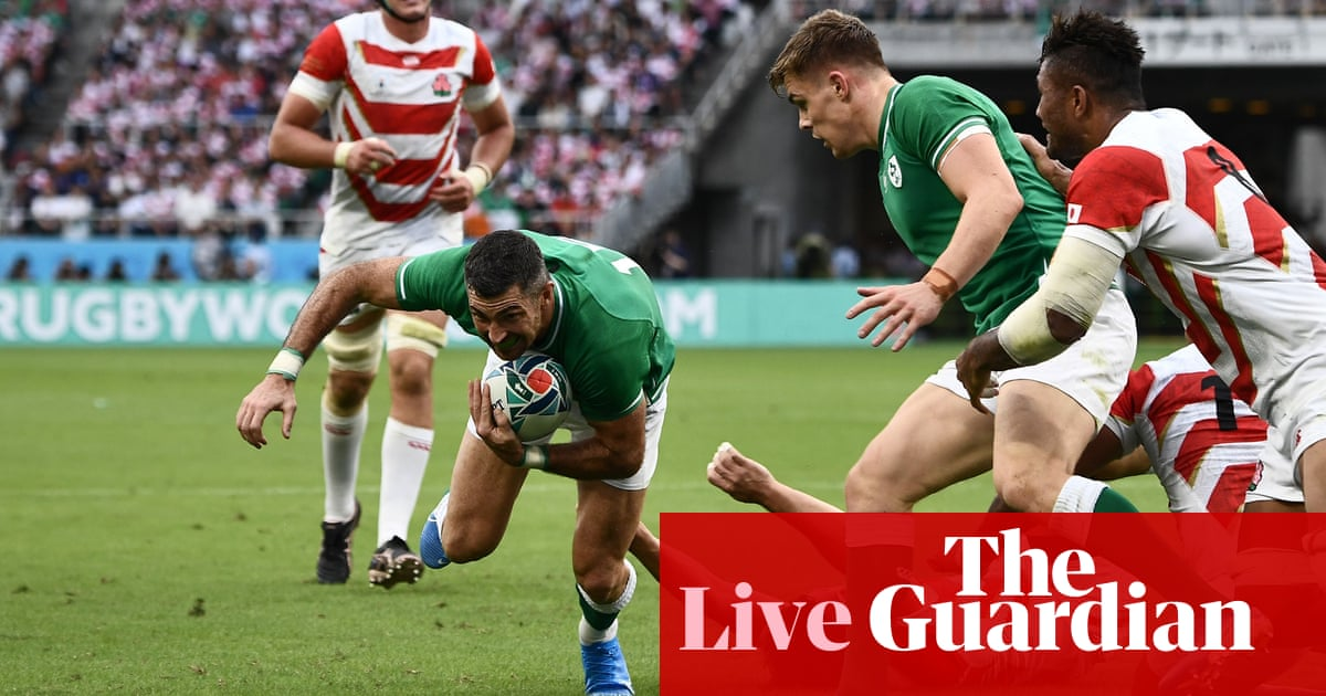 Japan v Ireland: Rugby World Cup 2019 – live!