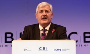 Paul Drechsler, president of the CBI, will tomorrow condemn the 'soap opera' of the government's position on Brexit.