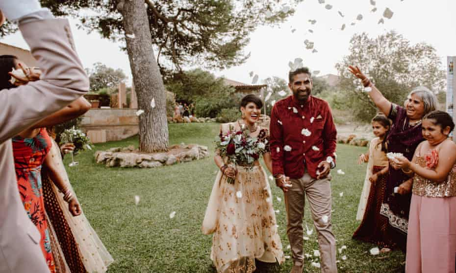 Hema and Ajai met on First Dates in 2016.