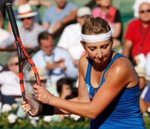 Bacsinszky's bright start has faded.