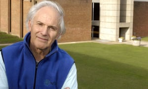 Harry Kroto at the University of Sussex, Brighton, in 2004.