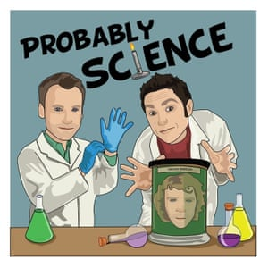 Probably Science Podcast poster logo