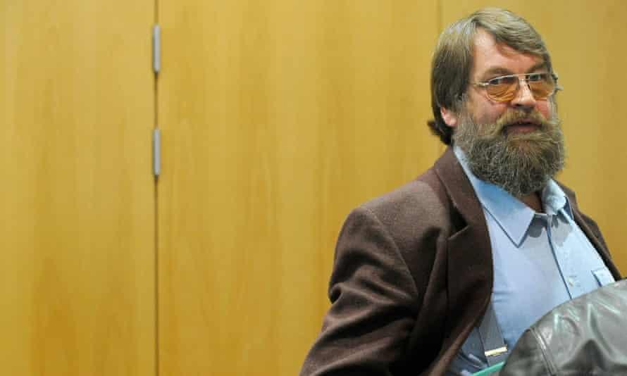 Werner Mazurek in court