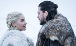Dalliance with the dragon queen ... Jon and Dany.