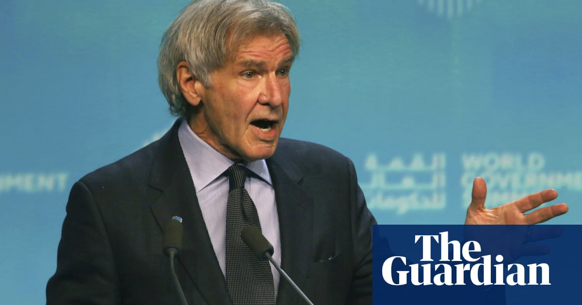 Harrison Ford: leaders who deny climate change are 'on the wrong side of history'