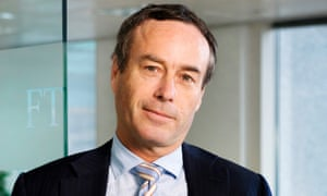 Financial Times editor Lionel Barber: joining the Légion d'Honneur