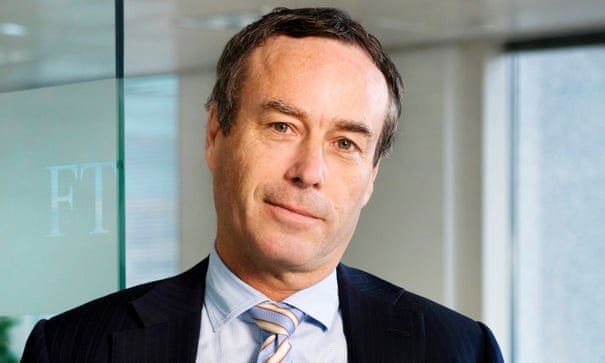 FT editor to be honoured by France for 'positive role' in EU debate   Lionel Barber   The Guardian
