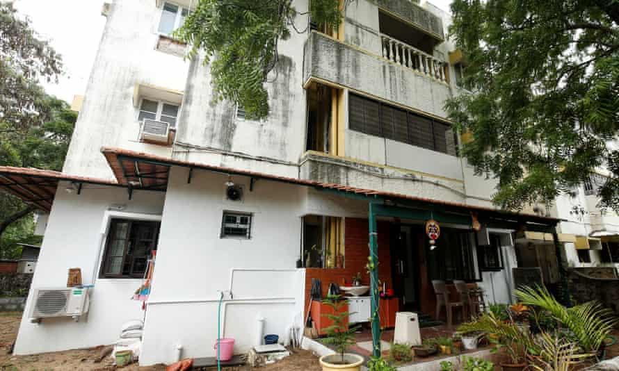 Kamala Harris's maternal grandparents' former apartment in Chennai
