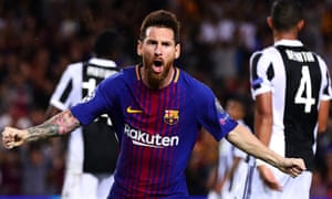Lionel Messi finished only 42 points ahead of Cristiano Ronaldo but has now come first in the Guardian's top 100 twice as many times as his great rival.