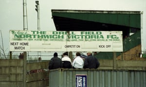 The Drill Field, former home of Northwich Victoria