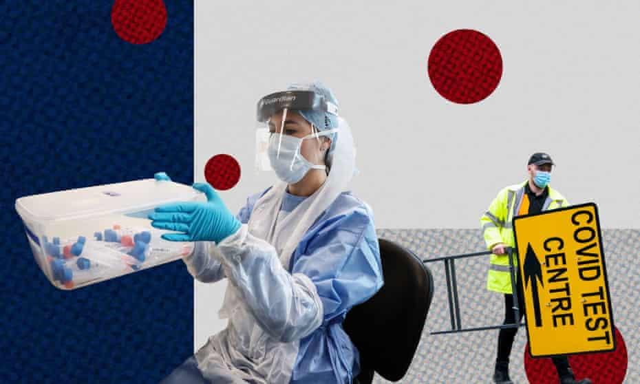 NHS Covid lab staff